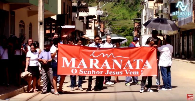 Igreja Maranata promove evangelismo em Manhuaçu
