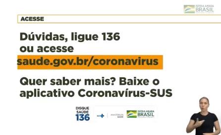 Utilidade Publica - Novo Coronavírus