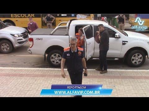 Governador Romeu Zema esteve em Manhuaçu neste domingo