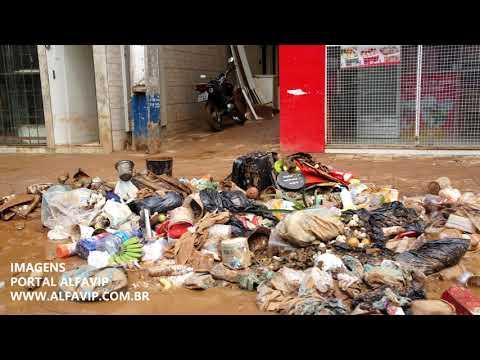 Triste imagens de Manhuaçu - MG