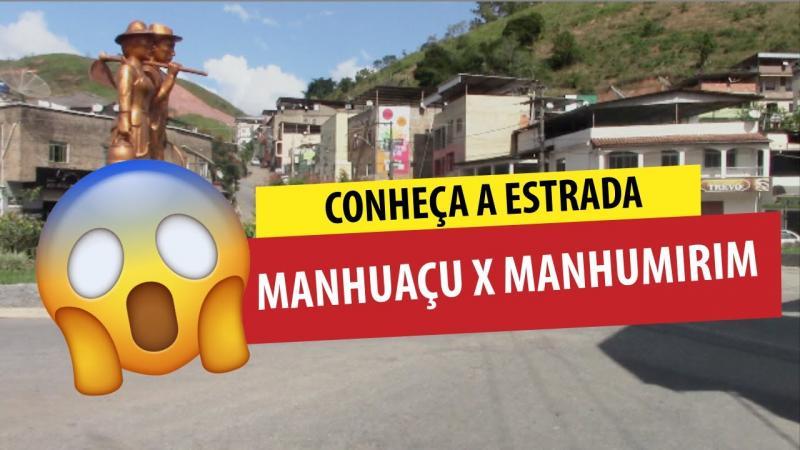 Estrada de Manhuaçu X Manhumirim MG